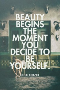 Být sám sebou