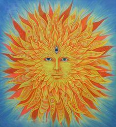 dívání se do slunce