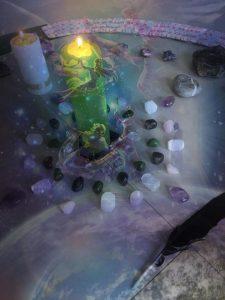uspořádání krystalů